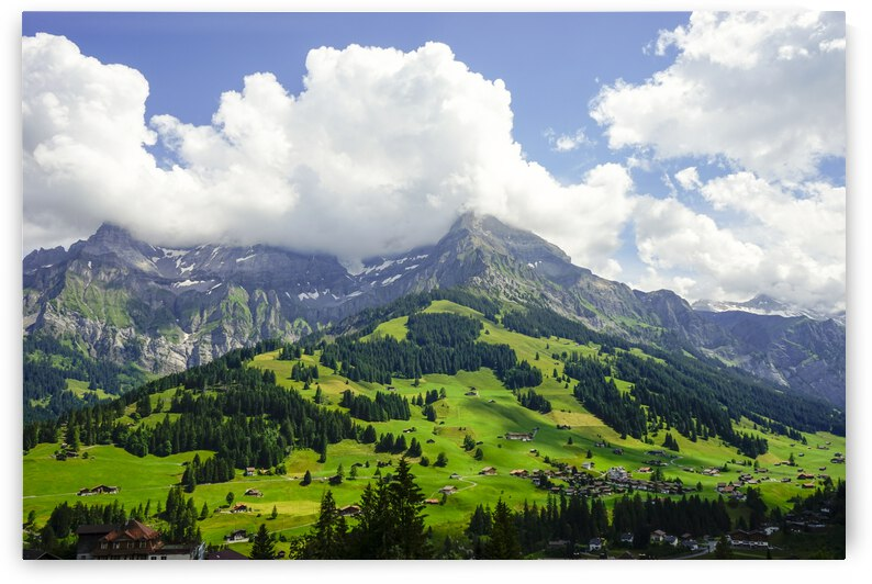 Beautiful Day in the Swiss Alps 2 of 2 by 24