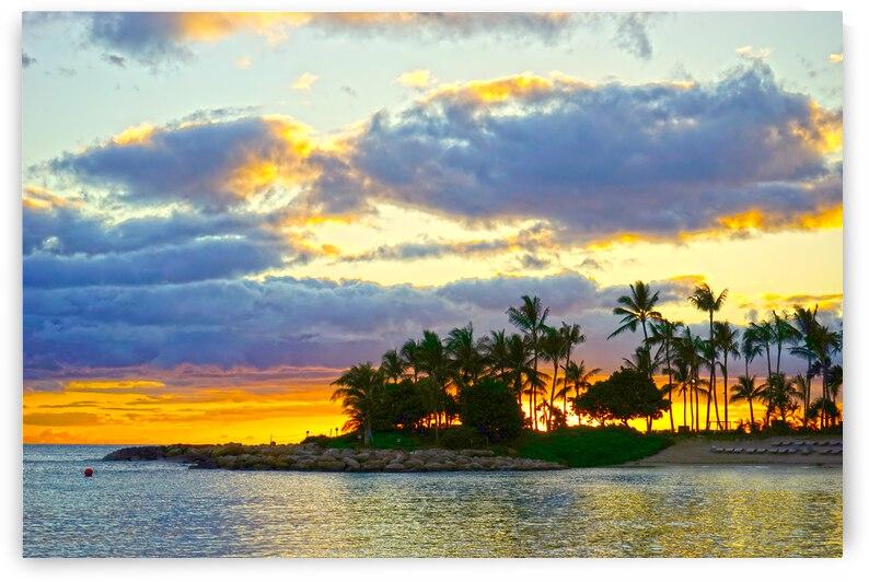 Sunset over Kaula Bay Hawaii by 24