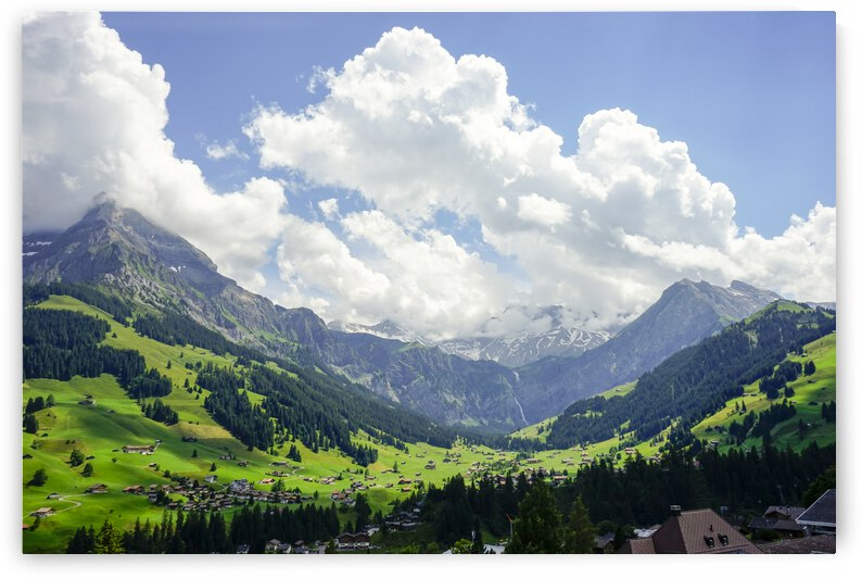 Beautiful Day in the Swiss Alps 1 of 2 by 24