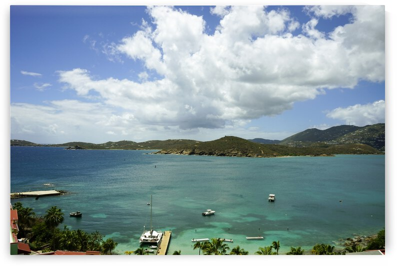 Saint Thomas in the Caribbean Islands by 1North