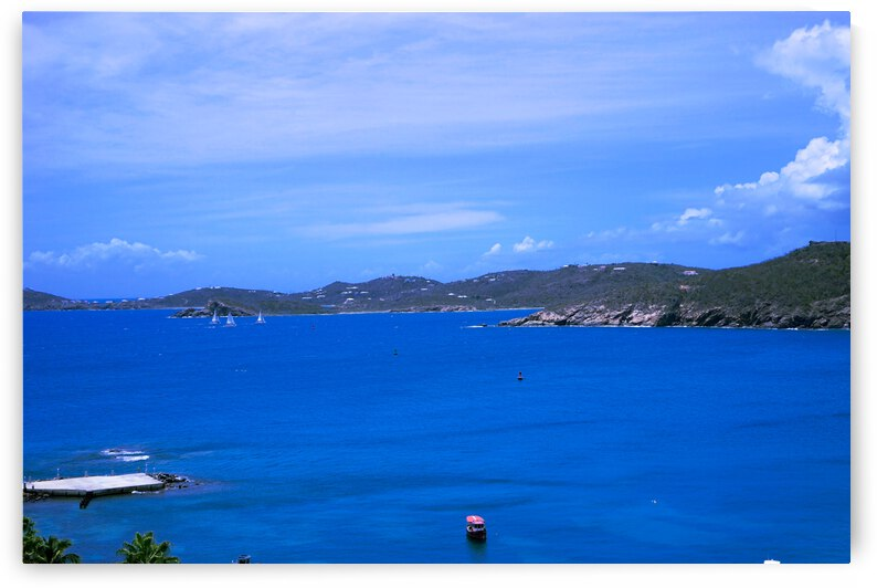 Beautiful Day in Saint Thomas in the Caribbean Islands by 1North