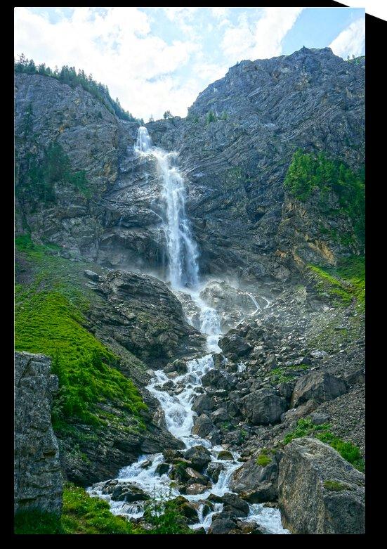 Engstligen Falls Adelboden Switzerland in the Bernese Highlands by 1North