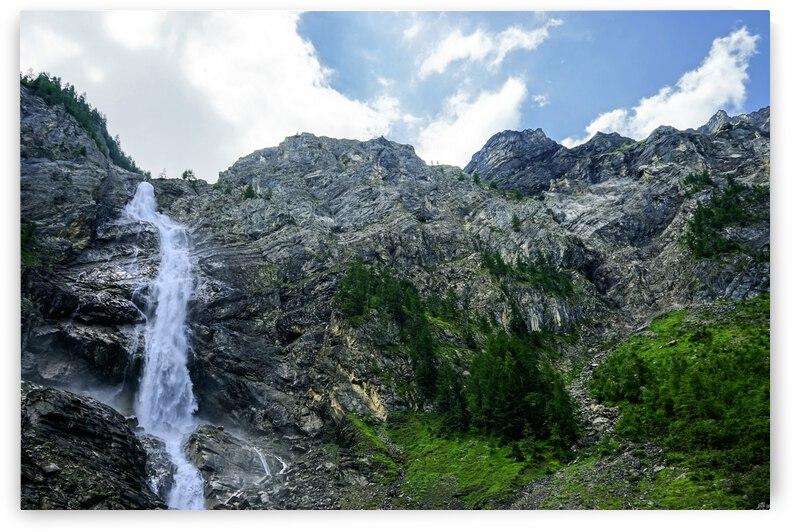 Engstligen Falls Adelboden   Waterfall in the Bernese Highlands of Switzerland by 360 Studios