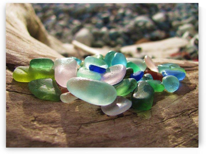 Sea Glass Colors by J  Jasmyn Phillips
