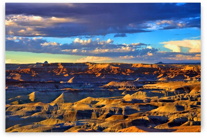 Little Painted Desert Vista 6 by Steven Scott Hutter