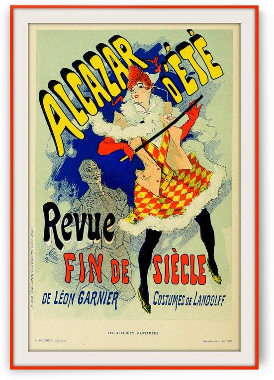 Alcazar Vintage Poster by VINTAGE POSTER