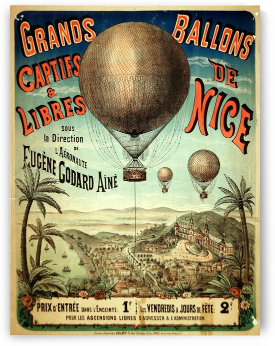 Grands Ballons de Nice by VINTAGE POSTER