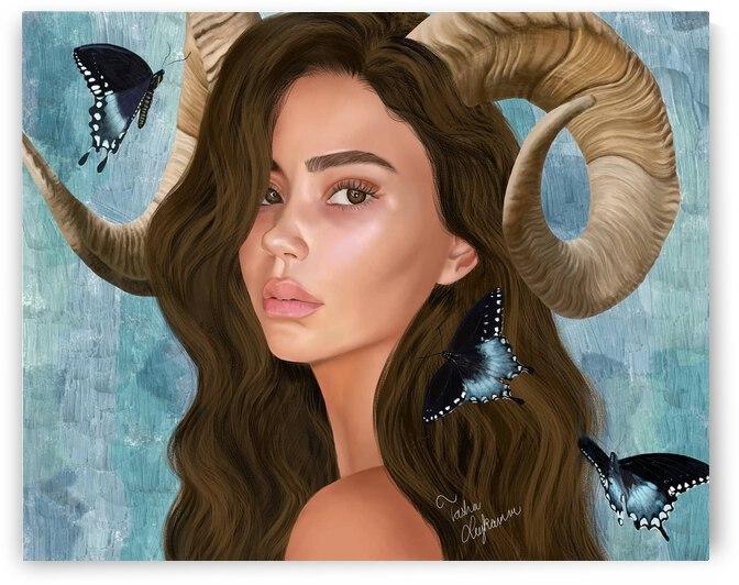The face of nature  by Tasha M Leykamm