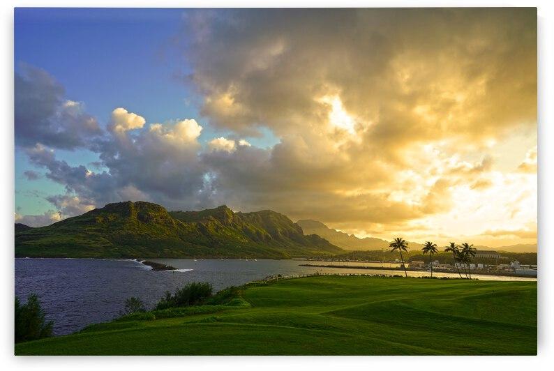 Sunset Nawiliwili Bay Kauai Hawaii by 360 Studios