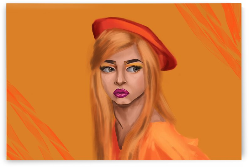 Lulu Orange by Nathalie Vallee