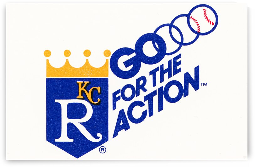 1982 Kansas City Royals Go for the Action by Row One Brand