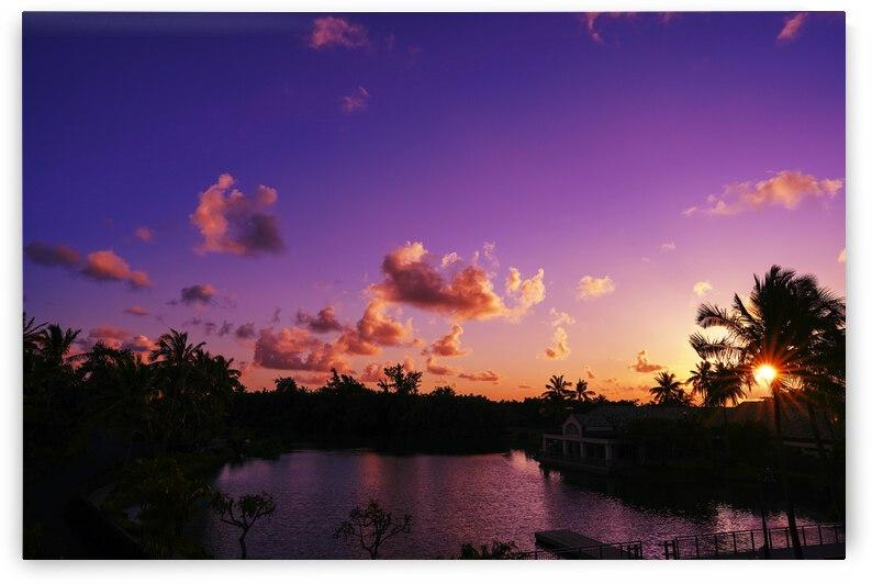 Sunrise over the Lagoon in Kauai by 360 Studios