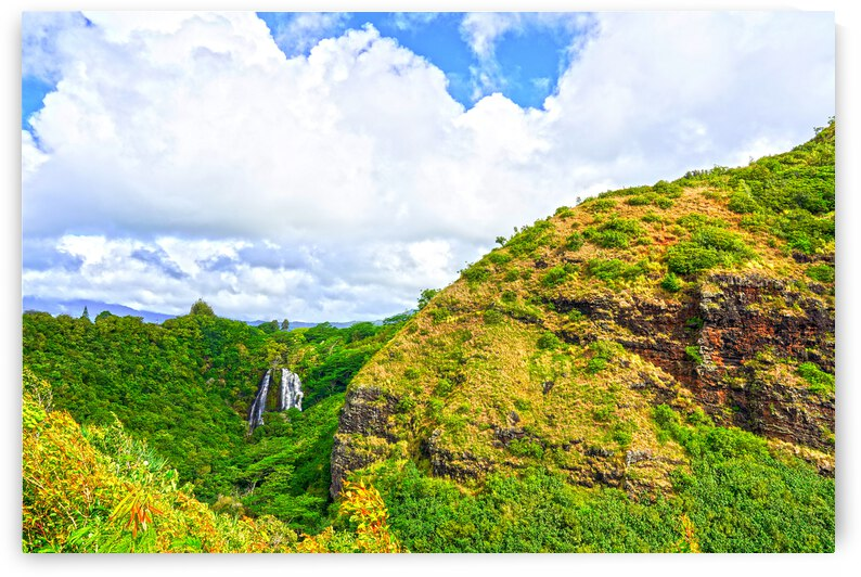 The Falls at the Mountain Overlook on Kauai by 24