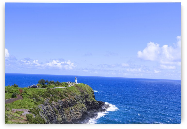 Kilauea Lighthouse in Spring on the Island of Kauai by 1North