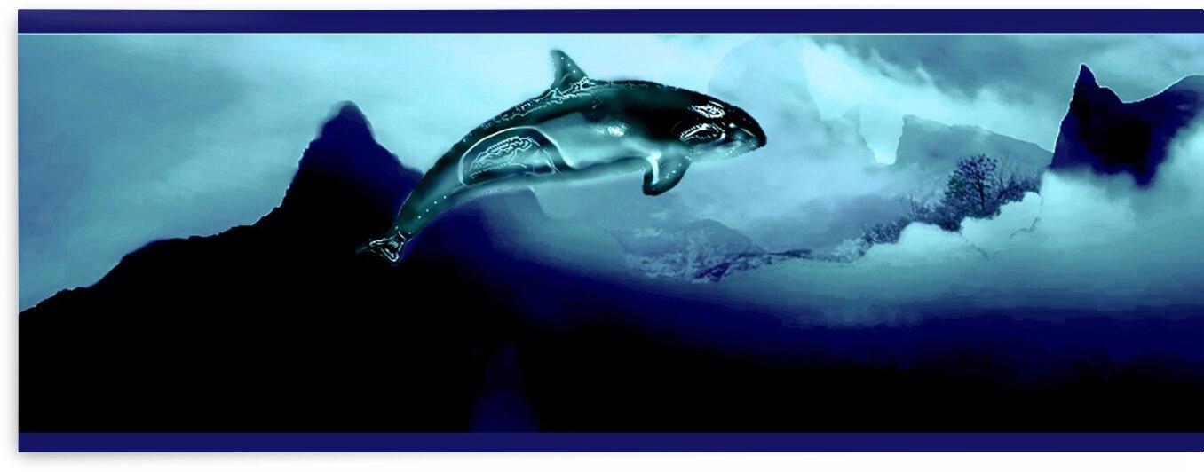 ORCAS LUNARES WIDE 1   by Aldane Wynter