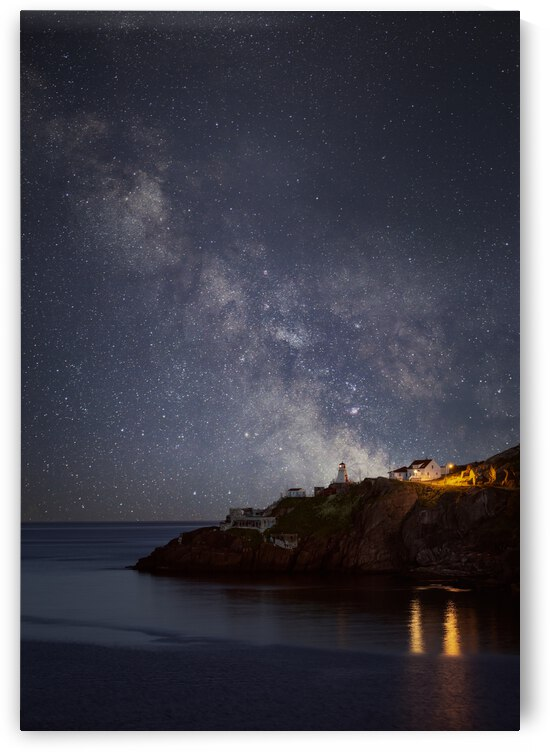 Galactic lighthouse by Alex Bihlo