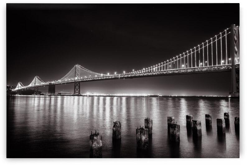 Bay Bridge Black & White by WOW Factor Photography