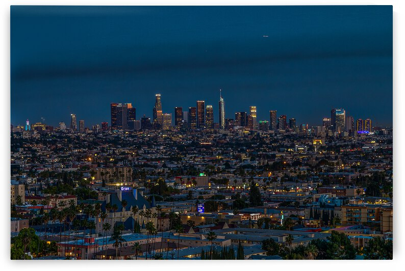 Los Angeles At Night by WOW Factor Photography