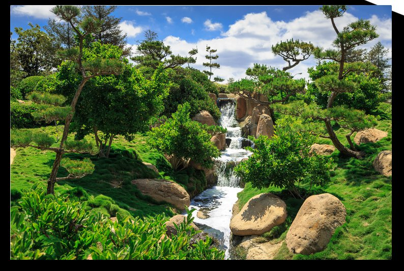 Garden Waterfall by WOW Factor Photography