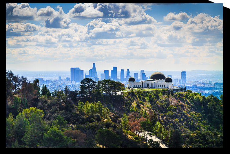 Overlooking Griffith Observatory by WOW Factor Photography