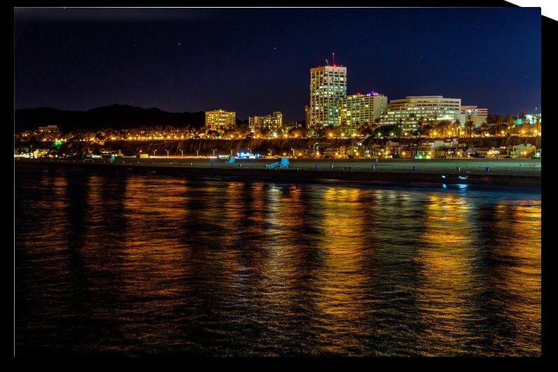 Santa Monica Skyline by WOW Factor Photography