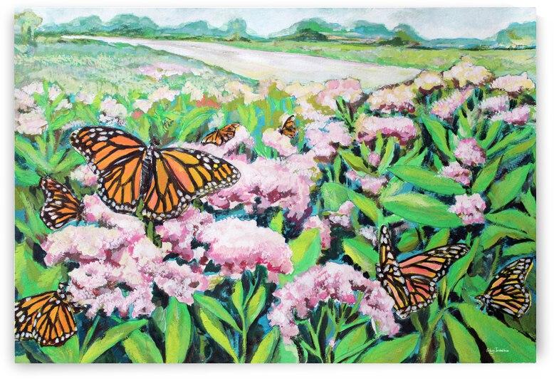 CountyMonrachButterflies by bluefloret