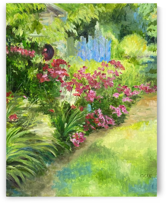 Spring garden by Cene