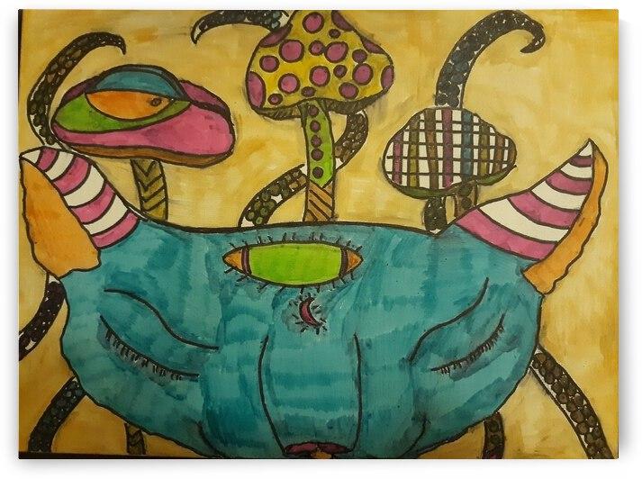 Mystical Pretty Kitty by Shaunese Johnson