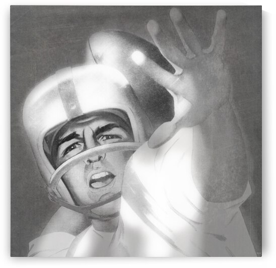 1960 Lon Keller Quarterback Remix Art by Row One Brand