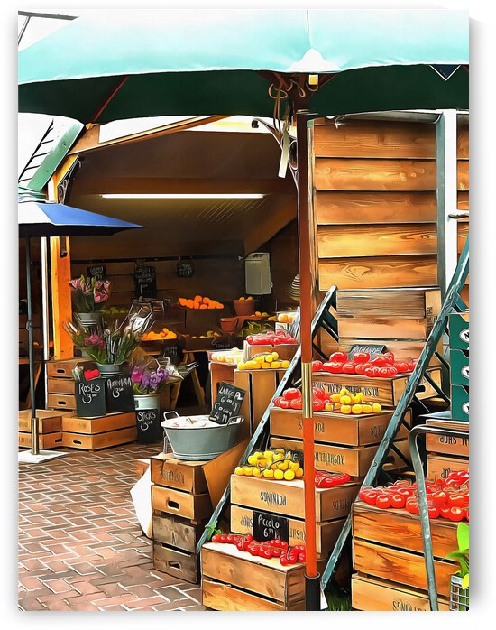 Farmers Market Sussex by Dorothy Berry-Lound