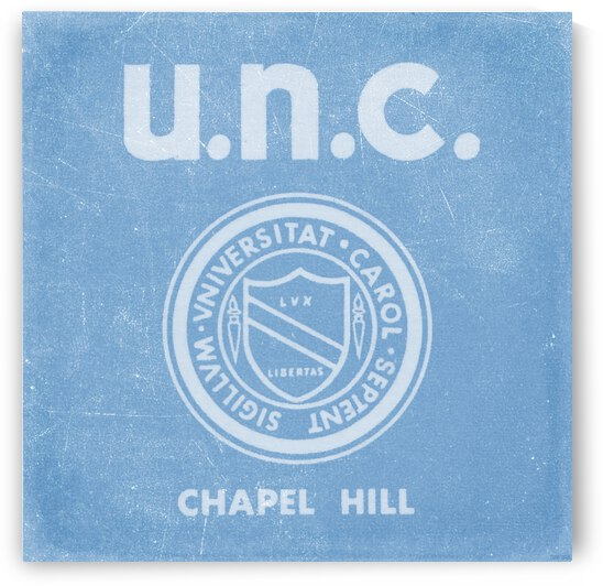 1960s UNC Chapel Hill Art by Row One Brand