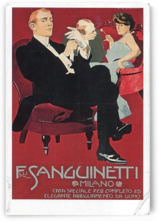 Filli Sanguinetti poster 1905 by VINTAGE POSTER