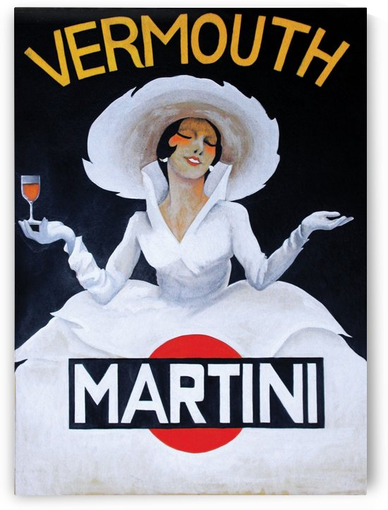 Martini Rossi by VINTAGE POSTER