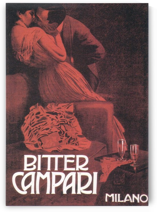 Bitter Campari poster by VINTAGE POSTER