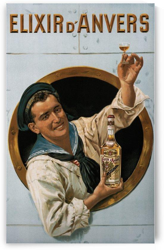Elixir DAnvers Vintage Advertising Poster by VINTAGE POSTER