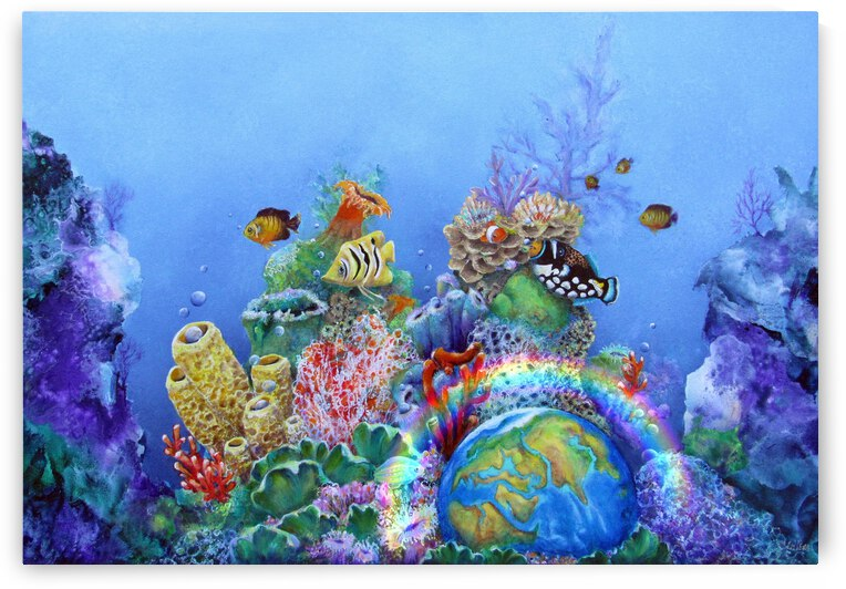 Save the Ocean 1 by Cheryl Ehlers