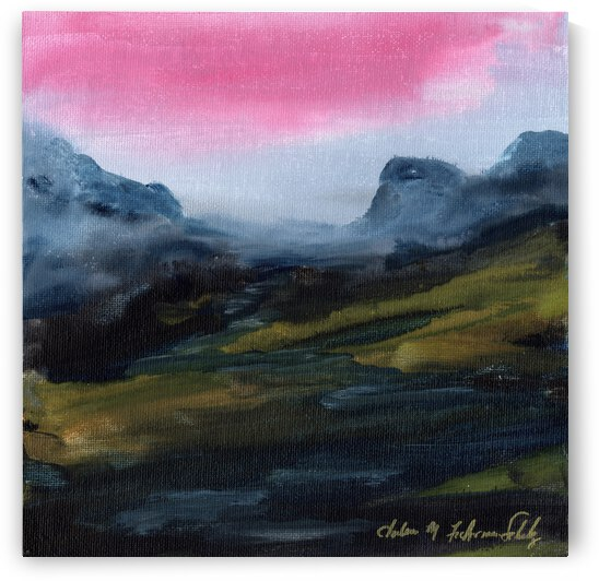 azure mountains by Charlene M Fuhrman Schulz