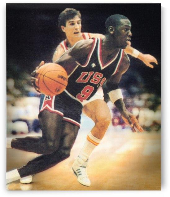 1984 Michael Jordan USA Basketball Art by Row One Brand