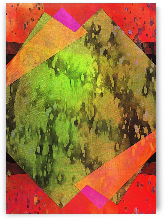 Multicolored Experimental Headache 3 by Dorothy Berry-Lound