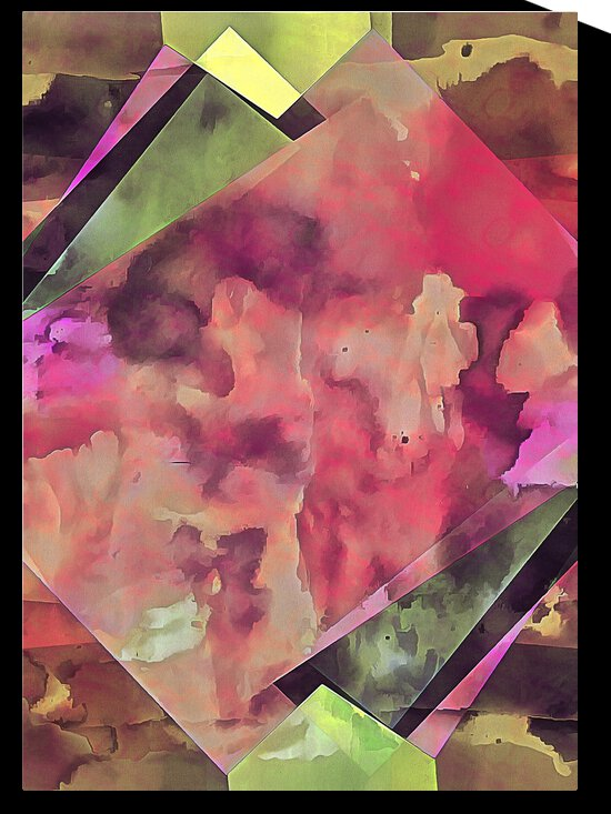Multicolored Experimental Headache 2 by Dorothy Berry-Lound