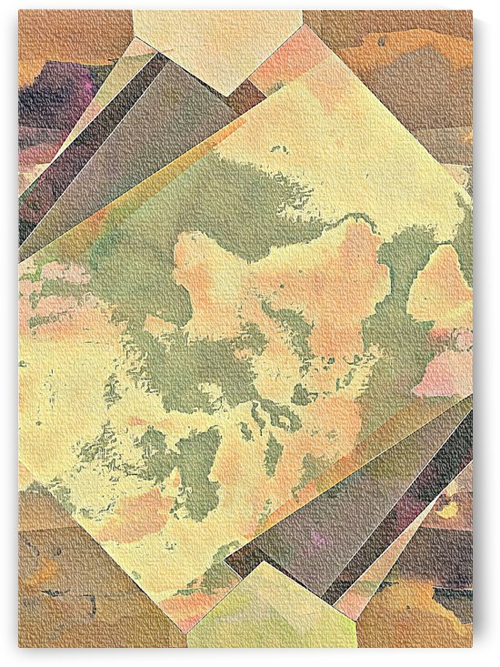 Multicolored Experimental Headache 7 by Dorothy Berry-Lound