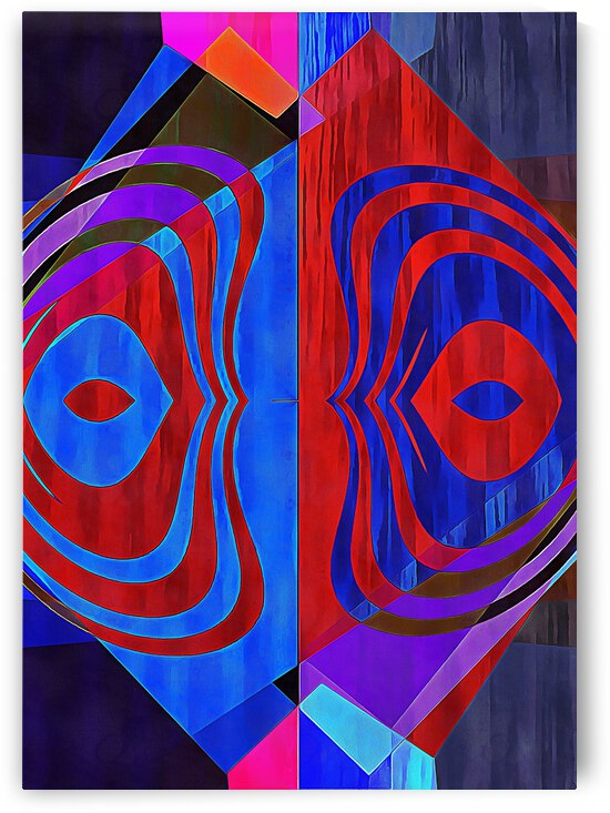 Multicolored Experimental Headache 10 by Dorothy Berry-Lound