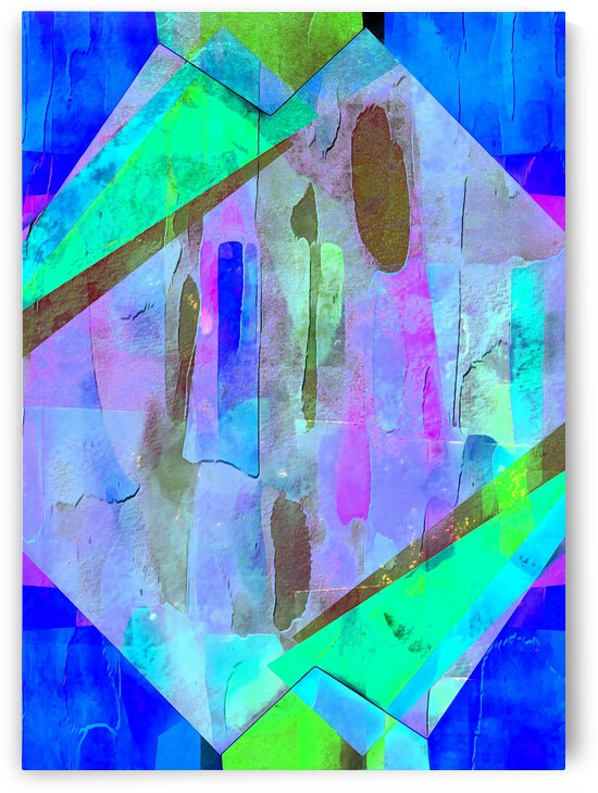 Multicolored Experimental Headache 15 by Dorothy Berry-Lound