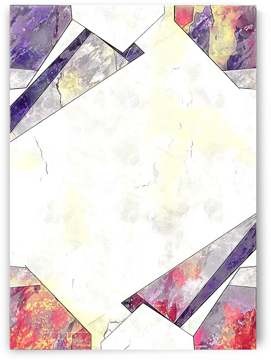 Multicolored Experimental Headache 14 by Dorothy Berry-Lound
