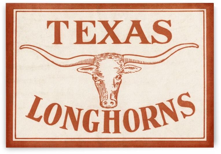 Historic Texas Longhorns Art by Row One Brand