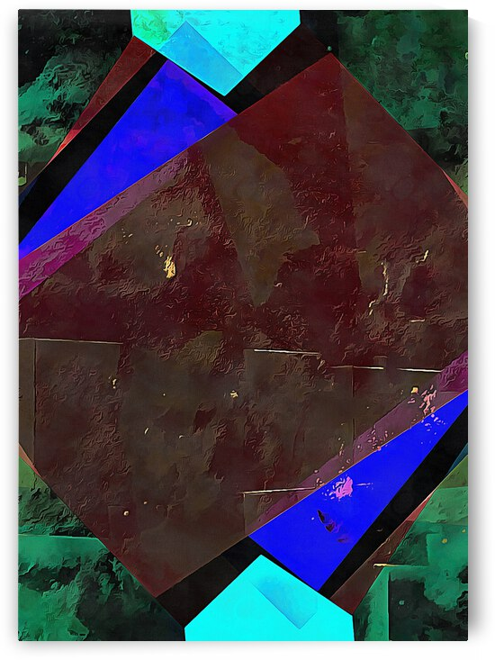 Multicolored Experimental Headache 18 by Dorothy Berry-Lound