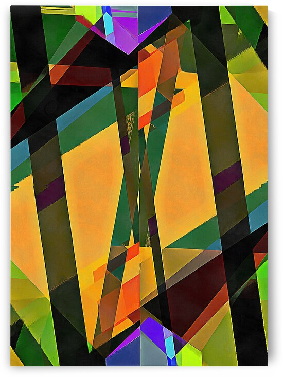 Multicolored Experimental Headache 22 by Dorothy Berry-Lound