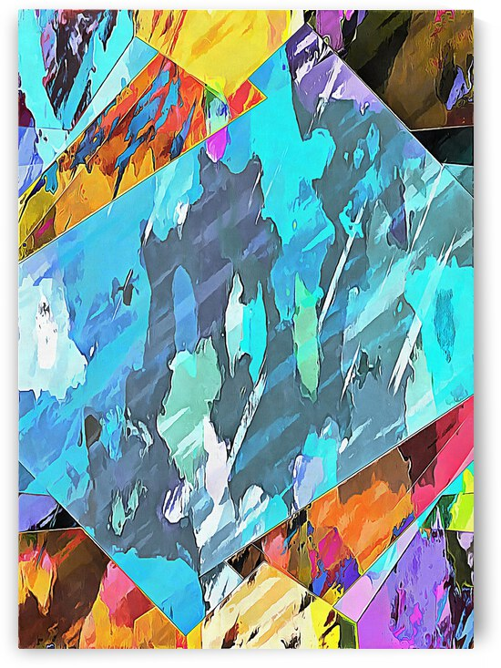 Multicolored Experimental Headache 19 by Dorothy Berry-Lound