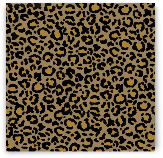 Leopard Spot Pattern Natural 2 by Photography and Digital Art By Colleen