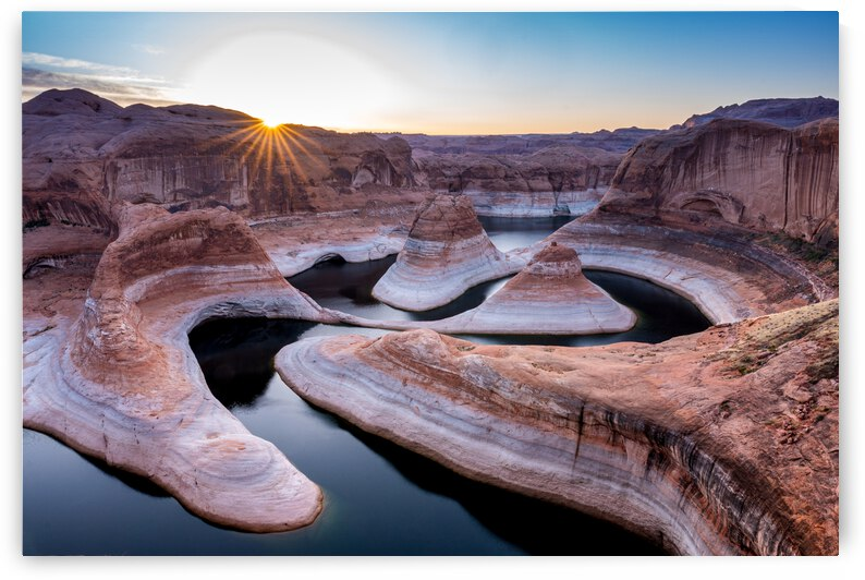 Reflection Canyon Utah 04 by Sebastian Dietl